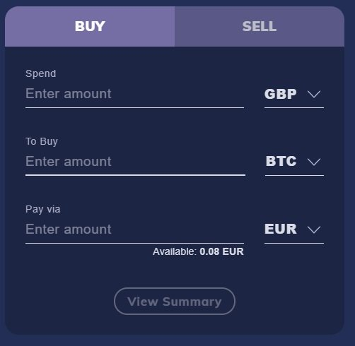 How to buy PARSIQ using CoinMetro's widget